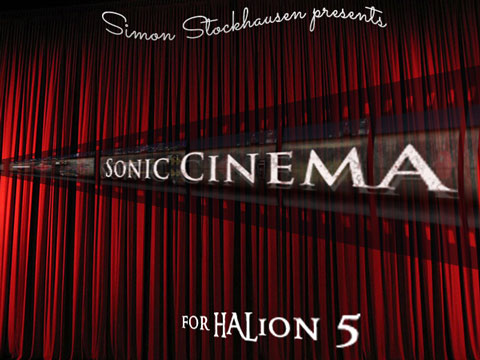 Sonic Cinema for HALion 5 - Patchpool